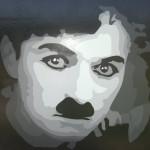 Charlie - 4x4, Acrylic on Luan