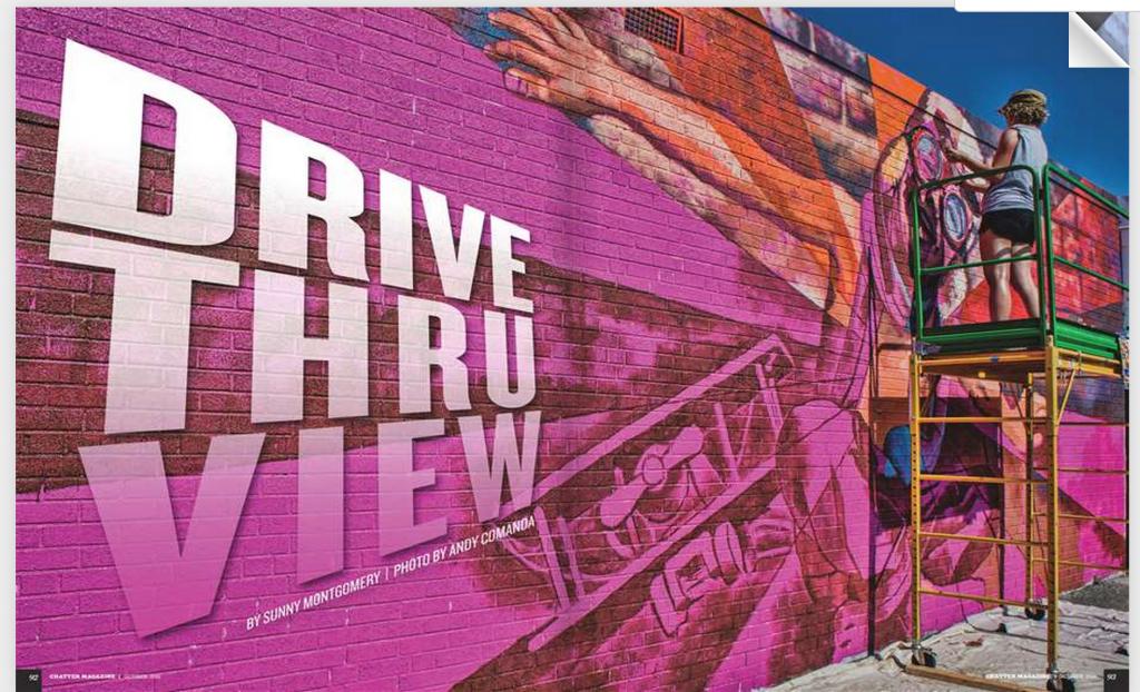 Drive Through View