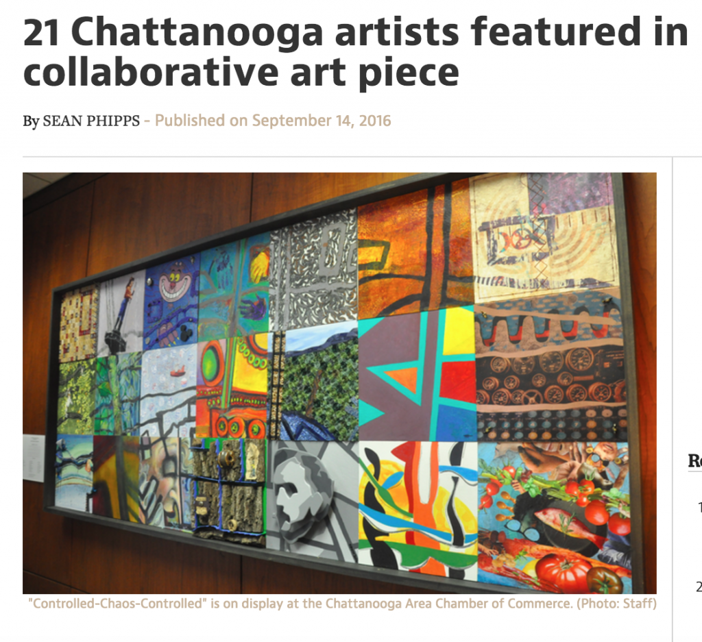 21 Chattanooga artists featured in collaborative art piece