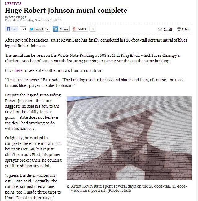 Robert in The News