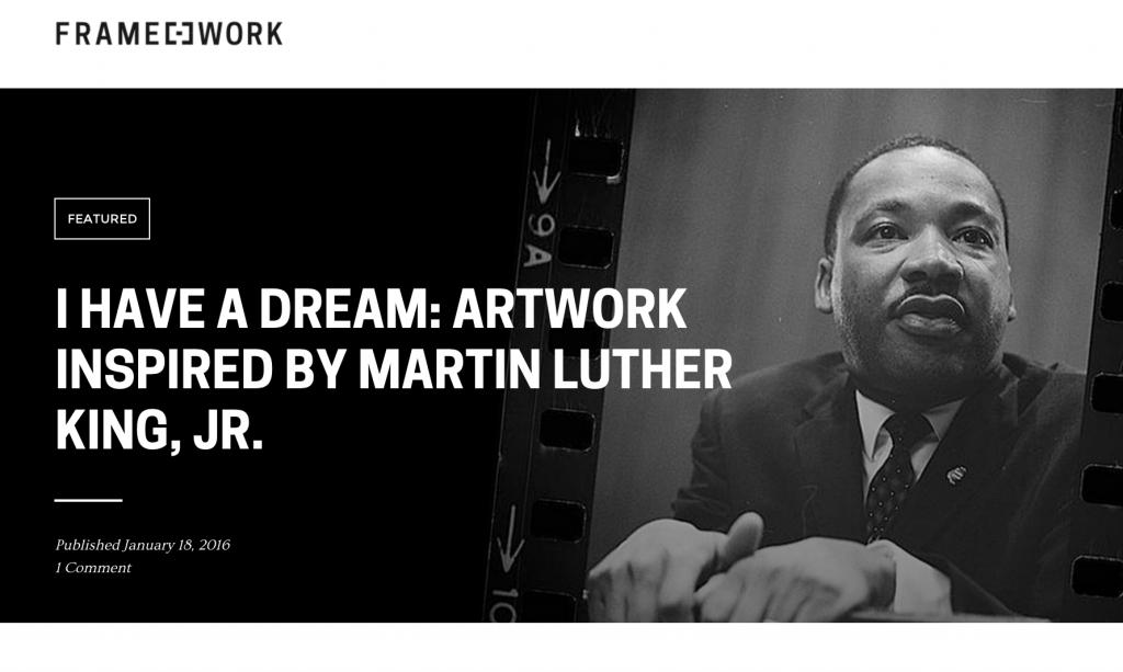 Framework MLK on MLK Kevin Bate